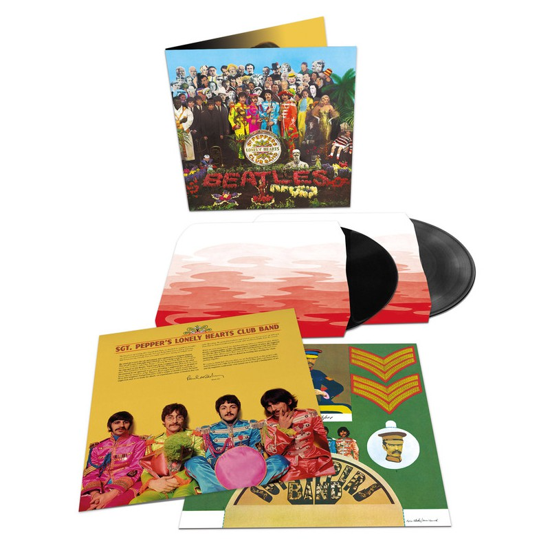 Beatles The Sgt Pepper S Lonely Hearts Club Band 2lp