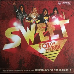 Sweet - Fox On The Run LP (single) yellow vinyl