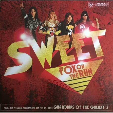 Sweet - Fox On The Run LP (single) yellow vinyl