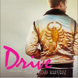 OST - Drive (Cliff Martinez) crystal clear vinyl with multi colour splatter