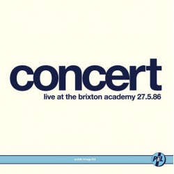 Public Image Limited - Concert Live At The Brixton Academy 27. 5. 86 (2LP)