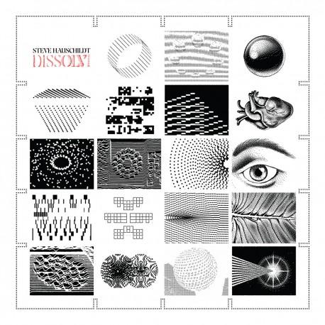 Hauschildt Steve - Dissolvi LP (red vinyl) limited edition