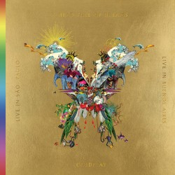 Coldplay - Live In Buenos Aires / Live In Sao Paulo / A Head Full Of Dreams (3LP+2DVD) gold vinyl