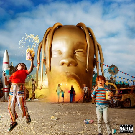 Scott Travis - Astroworld 2LP
