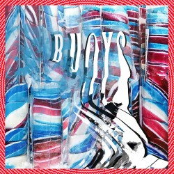 Panda Bear - Buoys LP (red w/ white marbled vinyl) limited edition