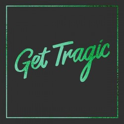 "Blood Red Shoes - Get Tragic LP (+7"") green & black vinyl (deluxe edition)"