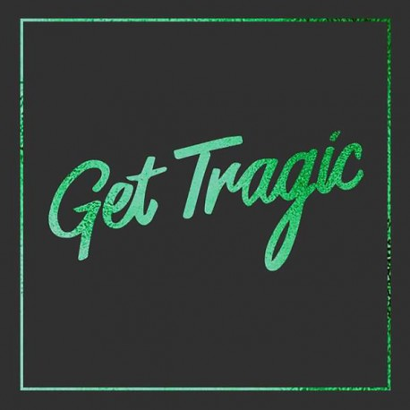 "Blood Red Shoes - Get Tragic LP (+7"") green & black vinyl (deluxe ediition)"