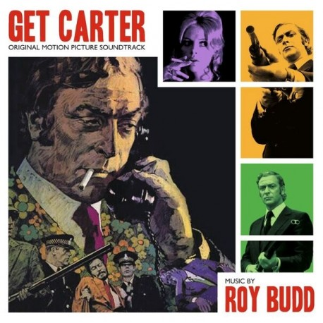 OST - Get Carter (Roy Budd) LP (transparent green vinyl)