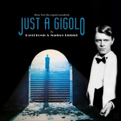 "Bowie David & Marlene Dietrich - Just A Gigolo 7"" (OST) blue transparent vinyl"