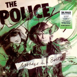 "Police, The - Message In A Bottle 2 x 7"" (transparent green & blue vinyl)"