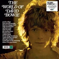 Bowie David - The World Of David Bowie LP (blue vinyl)