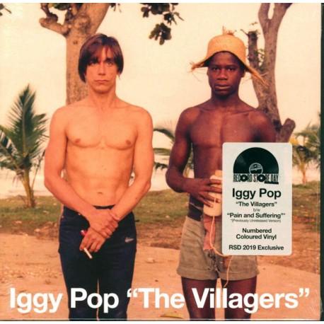 "Pop Iggy - The Villagers 7"" (dark green vinyl)"