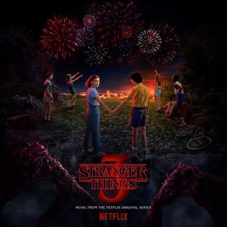 "OST - Stranger Things 3 (Music From The Netflix Original Series) 2LP + 7"""