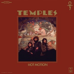 Temples - Hot Motion LP (limited edition) transparent red with black marble vinyl