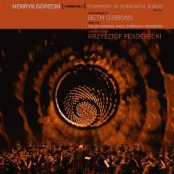 Górecki Henryk - Beth Gibbons, PNRSO, Krzysztof Penderecki - Symphony No. 3 (Symphony Of Sorrowful Songs) Op. 36 (LP) + DVD
