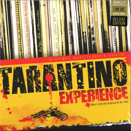 Tarantino Experience, The (various artists) 2LP (red & yellow vinyl) deluxe edition
