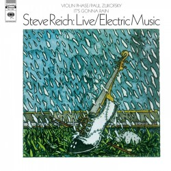 Reich Steve - Live / Electric Music LP
