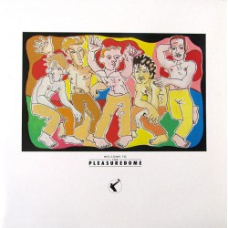 Frankie Goes To Hollywood - Welcome To The Pleasuredome 2LP