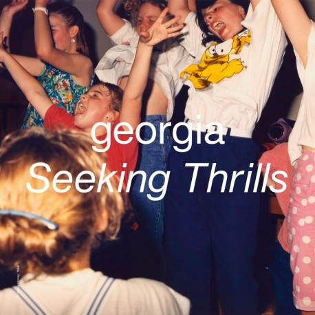Georgia - Seeking Thrills LP (red vinyl) limited edition