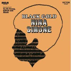 Simone Nina - Black Gold LP (black & gold marbled vinyl) limited edition