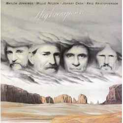 Jennings Waylon / Willie Nelson / Johnny Cash / Kris Kristofferson - Highwayman LP