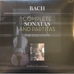 Bach Johann Sebastian - Complete Sonatas And Partitas For Solo Violin 2LP