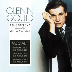 Gould Glenn + CBC Symphony, Robert Craft, Walter Susskind - Piano Concerto, Op. 42/Concerto No. 24 In C Minor LP