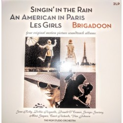 OST - Singin' In The Rain - An American In Paris - Les Girls - Brigadoon 2LP