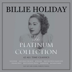 Holiday Billie - The Platinum Collection 3LP (white vinyl)