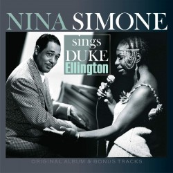 Simone Nina - Nina Simone Sings Duke Ellington LP (marbled dark blue vinyl) limited edition