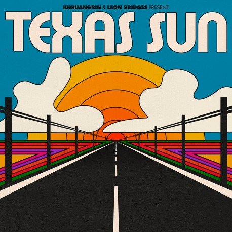 Khruangbin & Leon Bridges - Texas Sun LP (orange translucent vinyl) limited edition