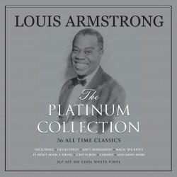 Armstrong Louis - The Platinum Collection 3LP (white vinyl)