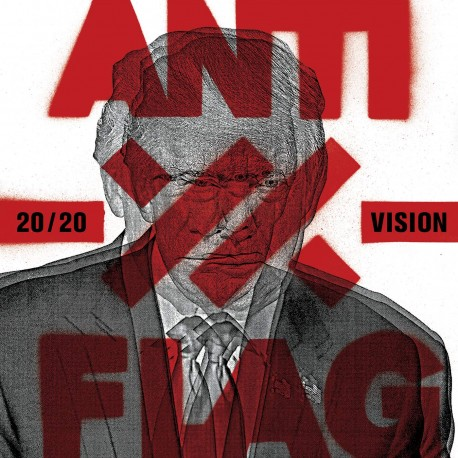 Anti-Flag - 20/20 Vision LP (red vinyl)