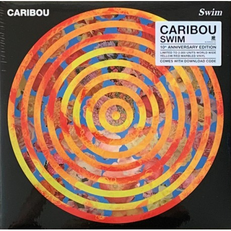 Caribou  – Swim (10th Anniverersary Coloured ) 2LP