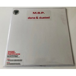 Manic Street Preachers  – Done & Dusted - RSD