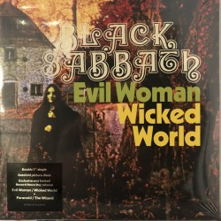 Black Sabbath  ‎– Evil Woman / Wicked World / Paranoid / The Wizard - RSD