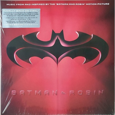 """Batman & Robin: Music From And Inspired By The """"Batman & Robin"""" Motion Picture"""