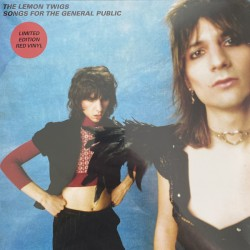 The Lemon Twigs  – Songs For The General Public Limited edition Red Vinyl